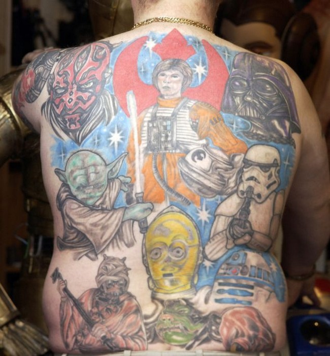 Tattoo 1 12 of the Worst Star Wars Tattoos