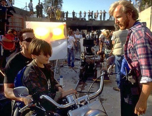 Terminator 2 Behind the scenes 1 Behind The Scenes Photos of Terminator 2: Judgment Day
