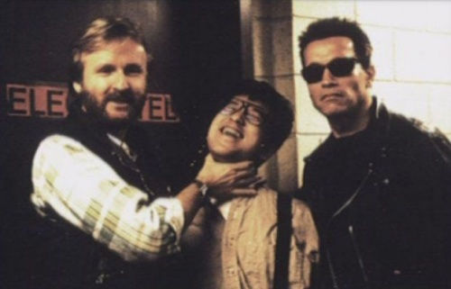 Terminator 2 Behind the scenes 2 Behind The Scenes Photos of Terminator 2: Judgment Day