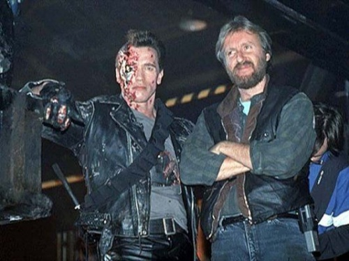 Terminator 2 Behind the scenes Behind The Scenes Photos of Terminator 2: Judgment Day