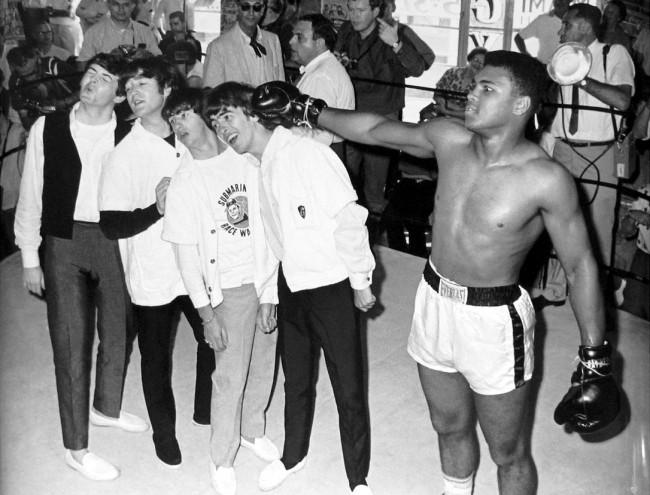 The Beatles met Muhammad Ali 1964 11 650x495 The Beatles met Muhammad Ali, 1964