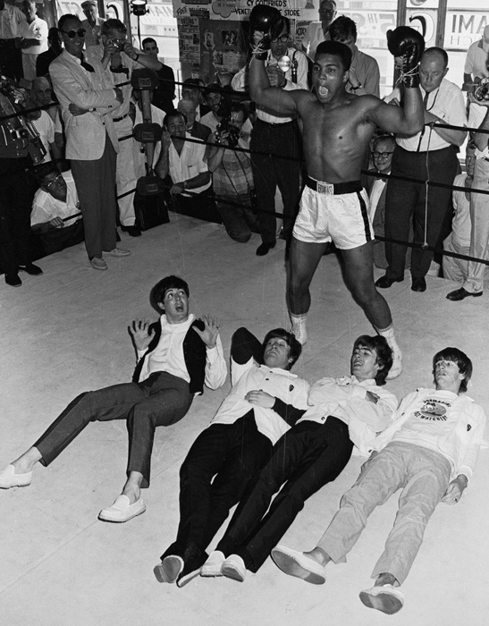 The Beatles met Muhammad Ali 1964 5 The Beatles met Muhammad Ali, 1964