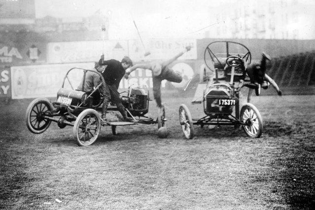 Vintage Photos of Auto Polo, c.1910s