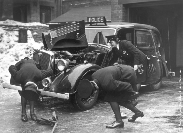 Vintage Photos of Fermale Police
