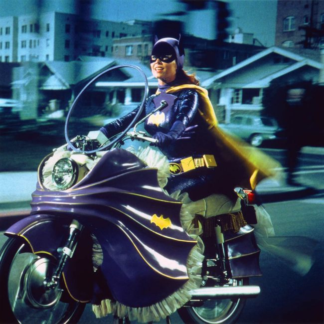 Vintage Photos of Yvonne Craig in Batgirl 1967 5 650x650 Vintage Photos of Yvonne Craig in Batgirl, 1967