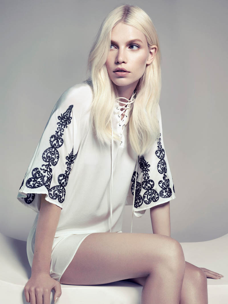 aline weber abrand11 Aline Weber by Henrique Gendre for A. Brand's Fall Campaign