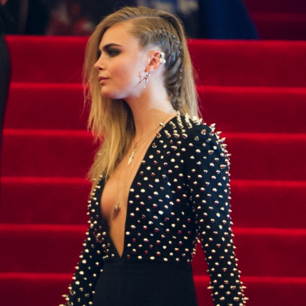 cara delevingne ear cuffs met ball Latest Jewelry Trends Met Ball