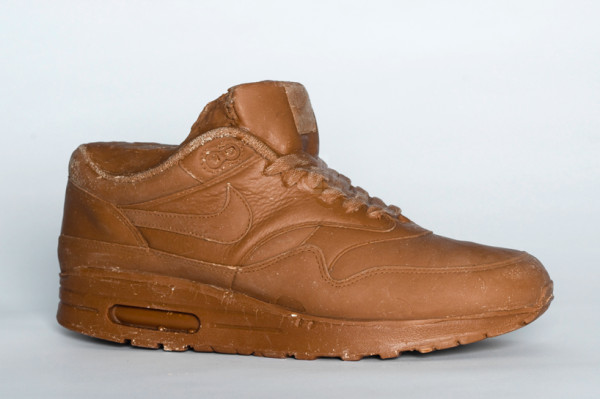chocolateairmax01 600x399 Chocolate Nike Air Max 1 by Joost Goudriaan