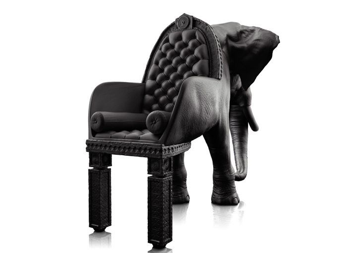 elephant 21 Limited Edition Animal Chairs by Maximo Riera