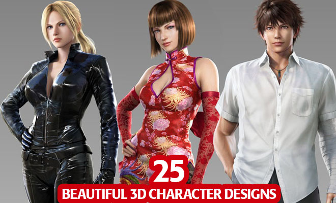 f630 25 Fresh and Most Beautiful 3D Character Designs for your inspiration