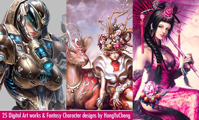 f650 25 Mind Blowing Digital Art works and Fantasy Character designs by Hong Yu Cheng