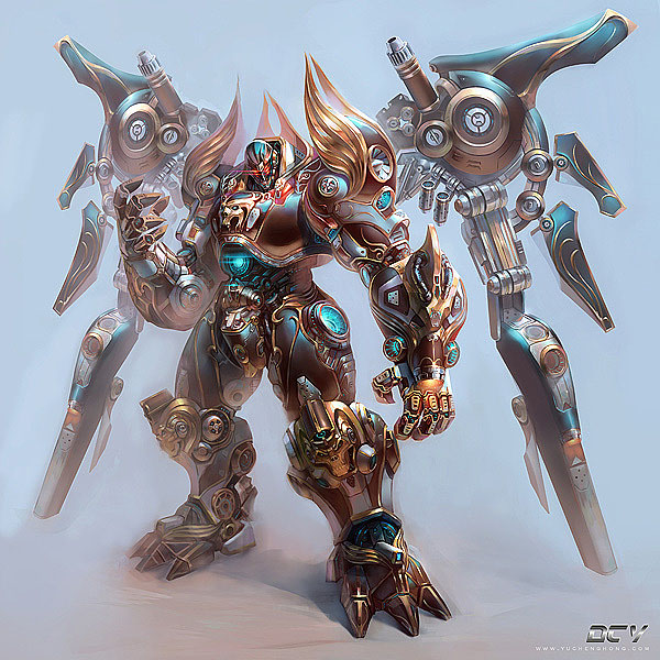 f651 25 Mind Blowing Digital Art works and Fantasy Character designs by Hong Yu Cheng