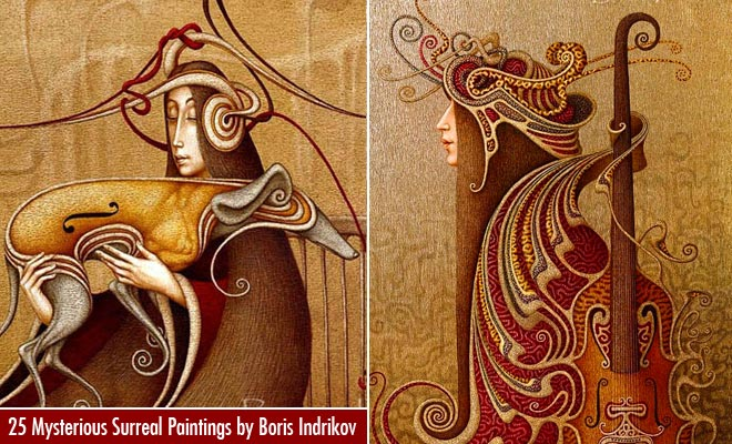 f690 25 Mysterious Surreal Oil Paintings by Russian Artist Boris Indrikov