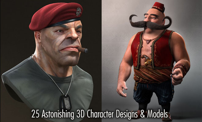 f790 25 Astonishing 3D Character Designs for your inspiration