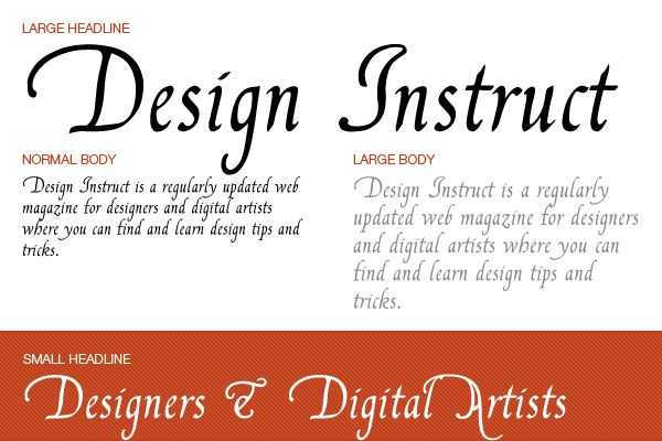 free fonts calligraphy 01 Free Calligraphy Fonts For Designers