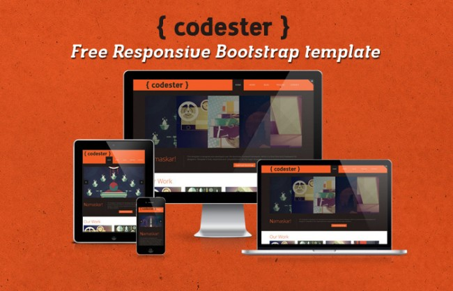 free responsive bootstrap template 650x417 Codester – Free Responsive Portfolio Bootstrap Template