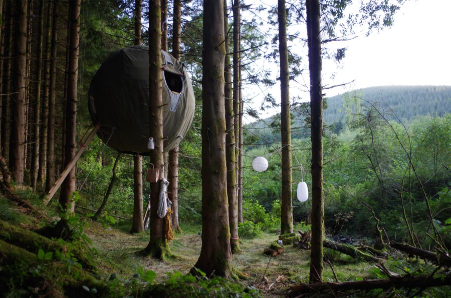 galext01enlarge11 Sustainable Shelter: Tree Tent Concept by Luminair