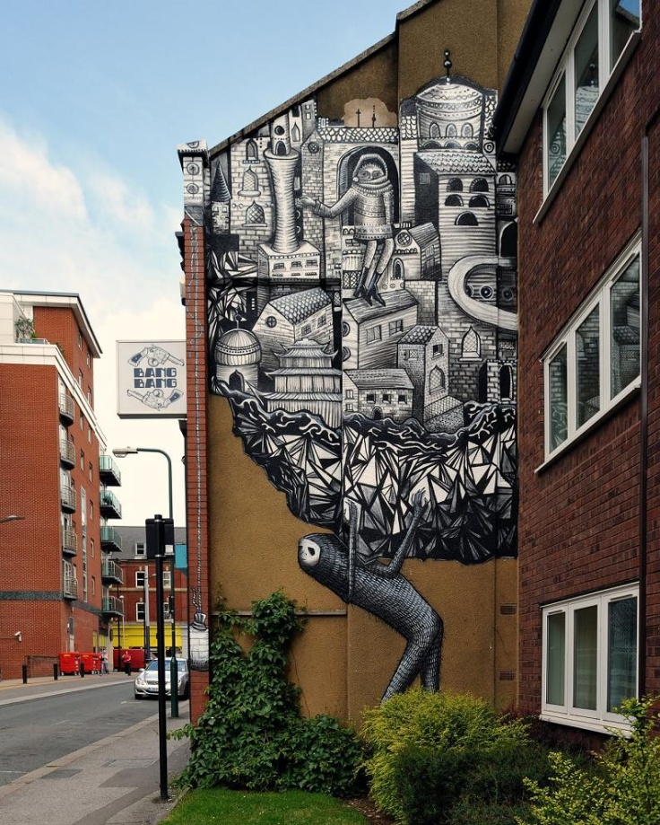 graffiti art by phlegm 31 4 Graffiti Artists to Watch in 2013