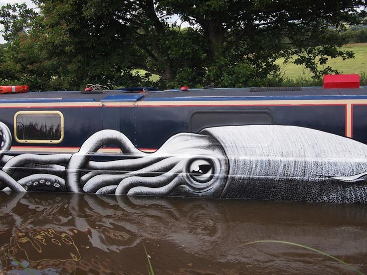 graffiti art by phlegm 71 4 Graffiti Artists to Watch in 2013