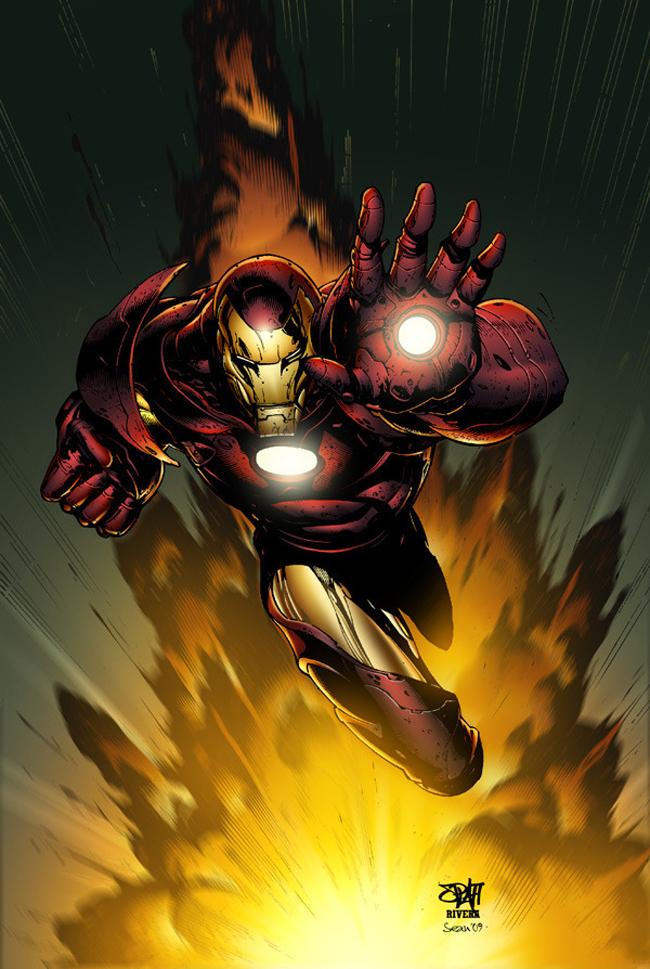 iron man illustration 1 Iron Man Illustrations