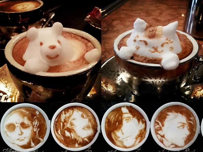 latte coffee art kazuki yamamoto 20 Latte Art by Kazuki Yamamoto