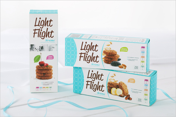 light flight biscuit packaging ideas 2 New Collection of Biscuits & Cookies Packaging For Inspiration