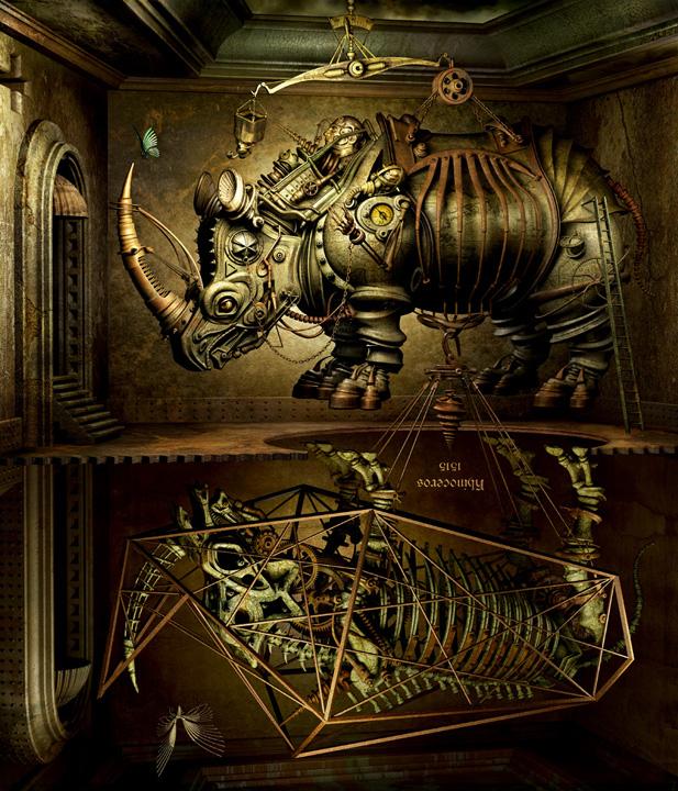 mechanical 3d digital art by kazuhiko nakamura 91 Mechanical 3D Digital Art by Kazuhiko Nakamura