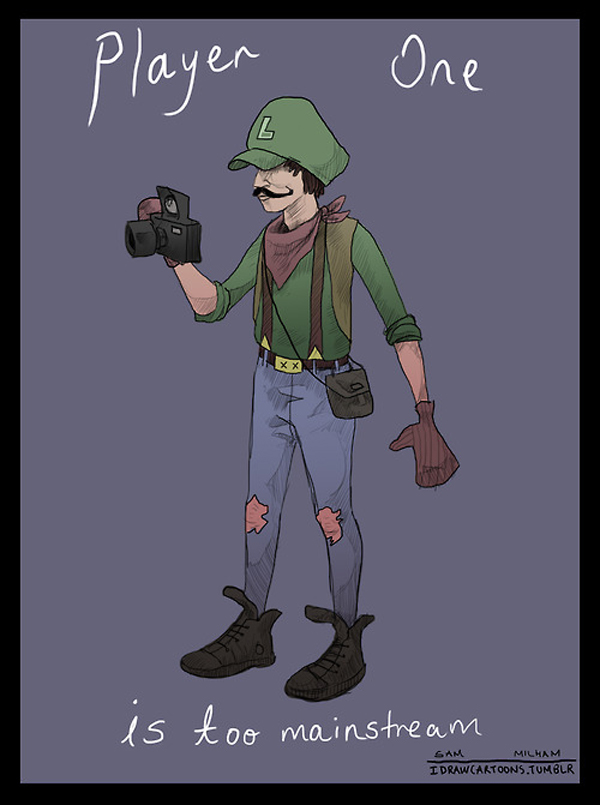 super mario hipsters 2 If Super Mario Characters Were Hipsters