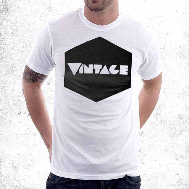 vintageness 01 geometric vintage 03 Vintage geometric t shirt. Vintageness collection