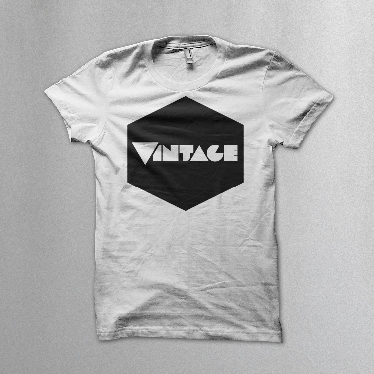 vintageness 01 geometric vintage Vintage geometric t shirt. Vintageness collection