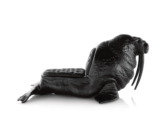 walrus 11 Limited Edition Animal Chairs by Maximo Riera