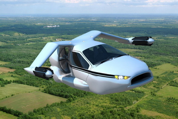 worlds first flying car 1 Terrafugia Plans to Release The World's First Flying Car