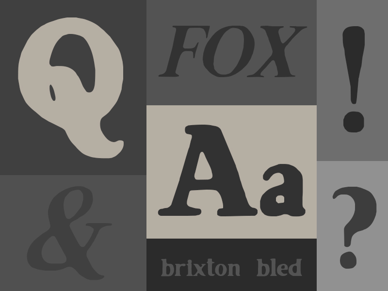 120 Font Download   Brixton Bled   A Creative Take on Vintage Printing