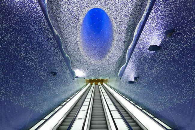 177 Toledo Metro Station by Oscar Tusquets Blanca