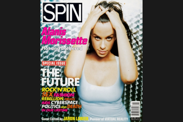 Alanis Morissette 95 11 spin cover SPIN Magazine Covers of the 90s