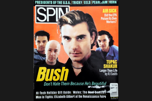Bush 96 12 spin cover SPIN Magazine Covers of the 90s