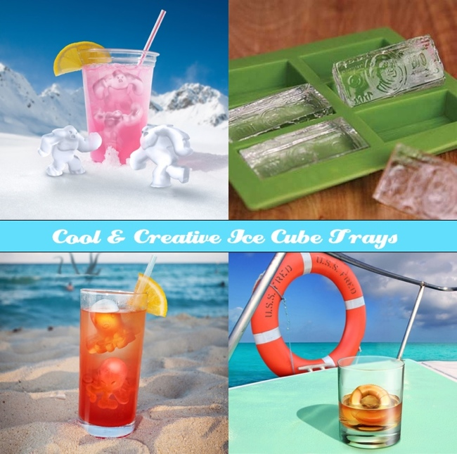DYT Cool Ice Cube Trays Cool & Creative Ice Cube Trays