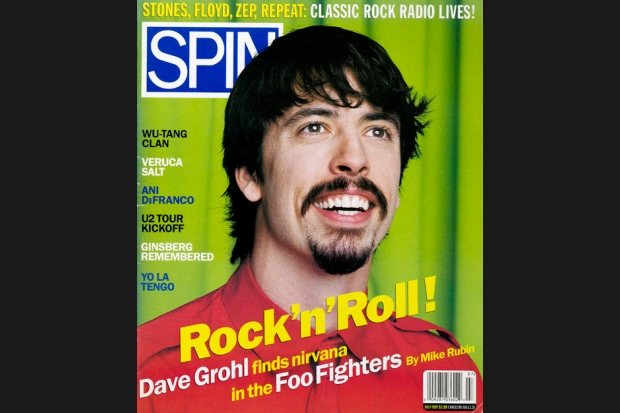 Foo Fighters 97 07 spin cover 0 SPIN Magazine Covers of the 90s