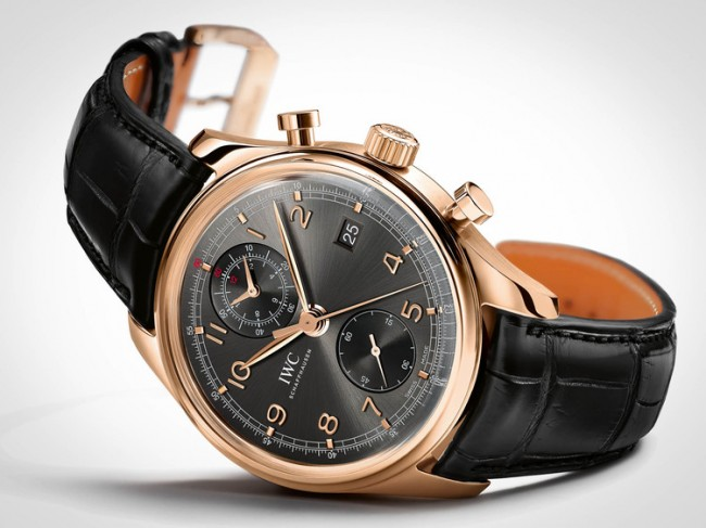 IWCPORTUGUESECHRONOGRAPHCLASSIC 6 650x487 Portuguese Chronograph by IWC