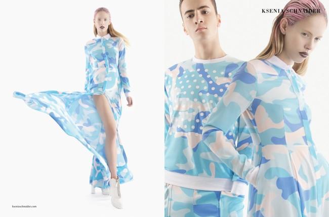 KS SS13 Spread3 650x429 Ksenia Schnaider camo garments