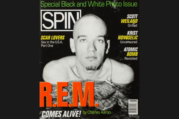 REM 95 08 spin cover SPIN Magazine Covers of the 90s