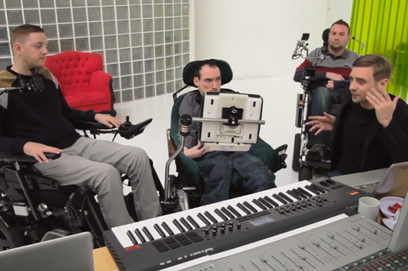 SM3 3 Disabled Music Fans Make Music With Only Their Minds