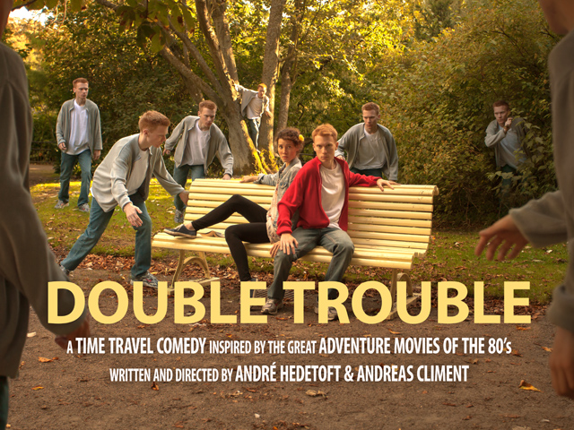dt 640px Help us Kickstart DOUBLE TROUBLE   a timetravel comedy inspired by the great adventure movies of the 80s