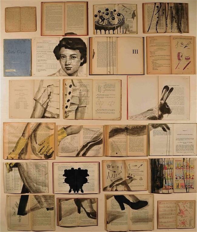 ekaterinapanikanova2 650x765 Deep Childhood Memories Painted Across Books