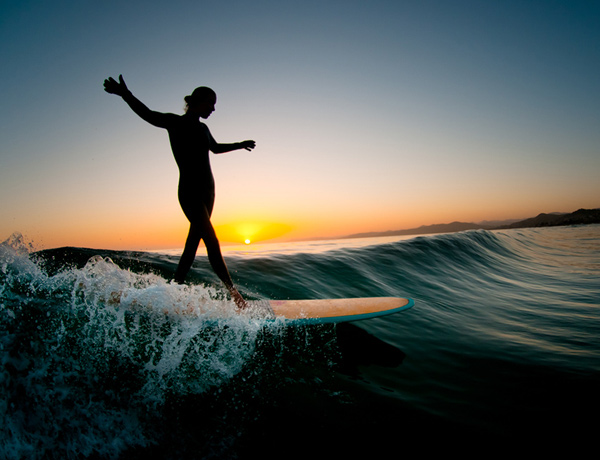 evening glide1 Surf's Up: 30 Incredible Surf Photographs