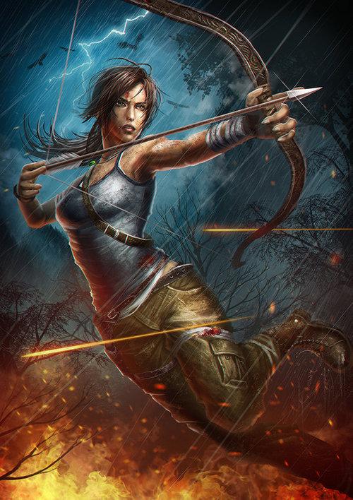 lara Lara Croft