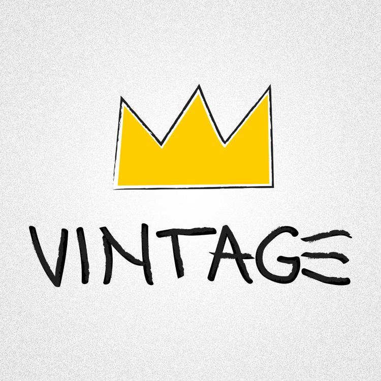 vintageness 04 vintage jean michel basquiat style 02 Vintage (Jean Michel Basquiat style) t shirt. Vintageness collection
