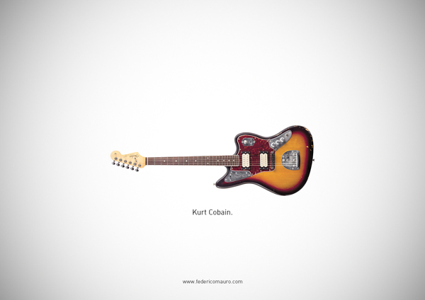 0482ea99a3ab91705358fb2f2fe06c8c Famous Guitars by Federico Mauro