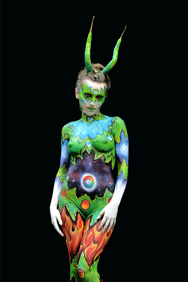 1052 The 16th World Bodypainting Festival