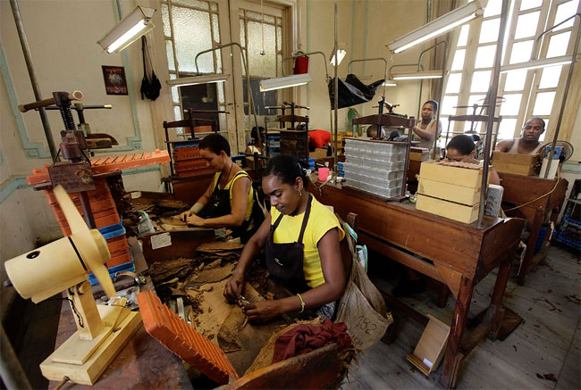 1288 Cohiba Cigar Factory in Havana, Cuba